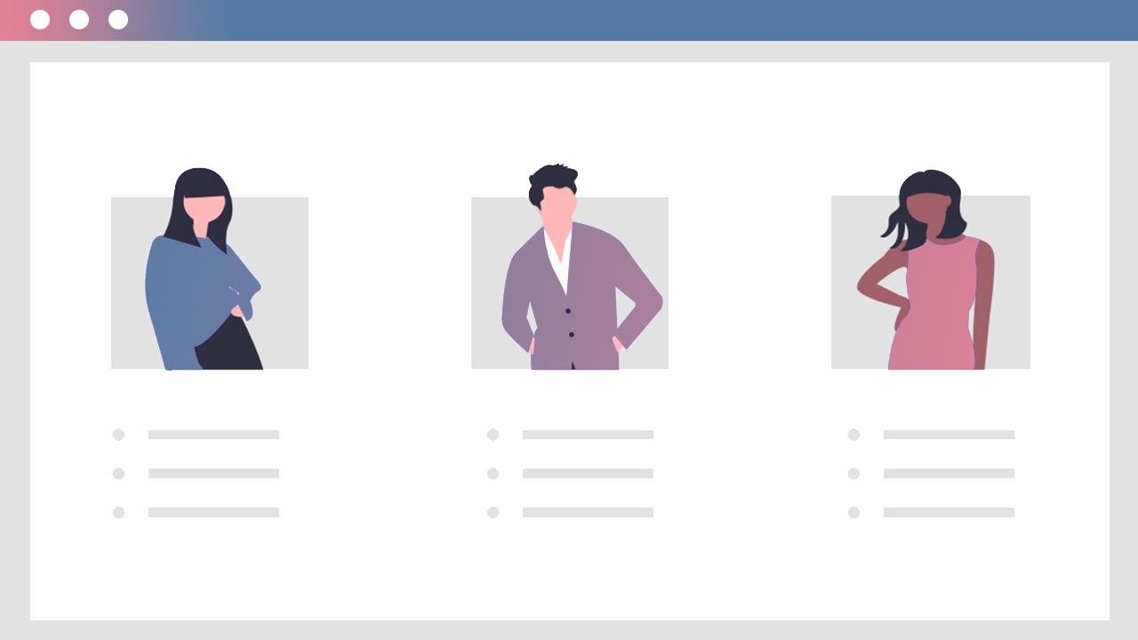 Identify customer personas